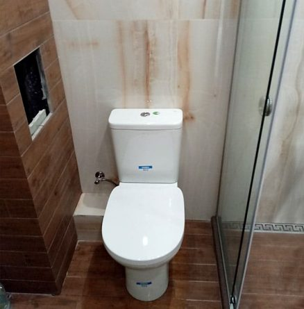 монтаж на моноблок в баня